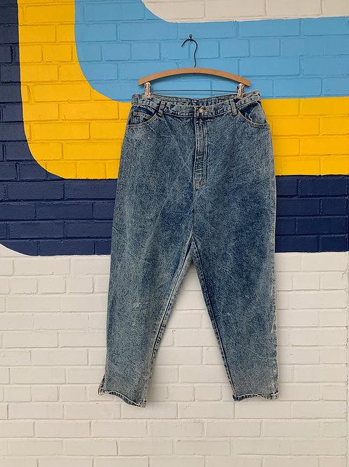 Vintage Acid Wash Jeans
