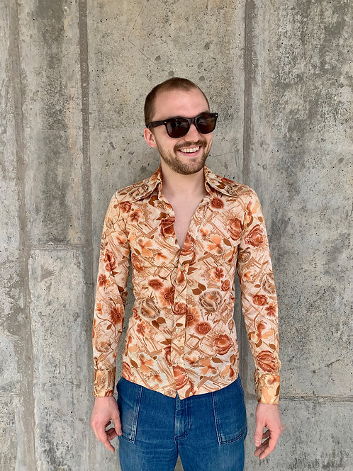 70's Button-Up