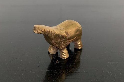 Baby Brass Elephant