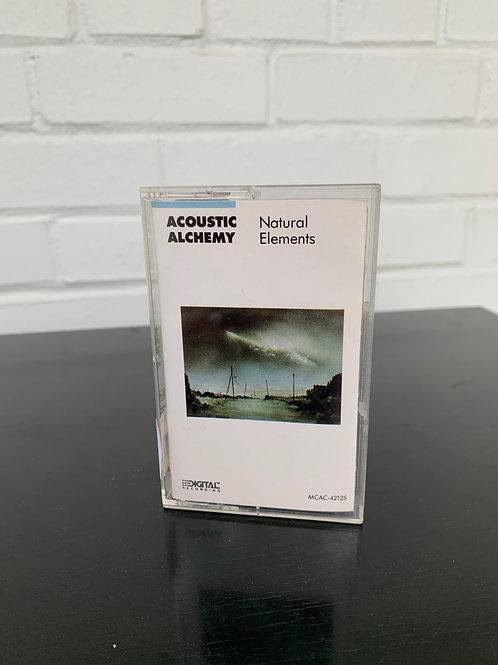 Acoustic Alchemy Natural Elements Cassette