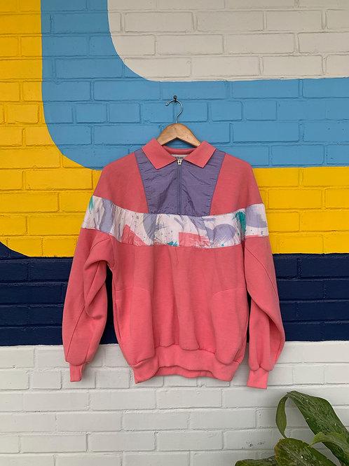 80's Pink Sweatshirt