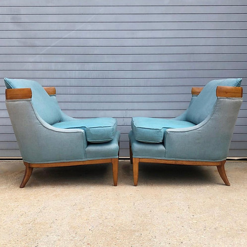 Tomlinson Sophisticate slipper chairs