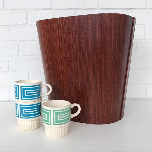 Danish Modern Beni Mobler rosewood waste basket