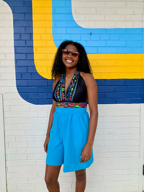 Bright Blue Shorts