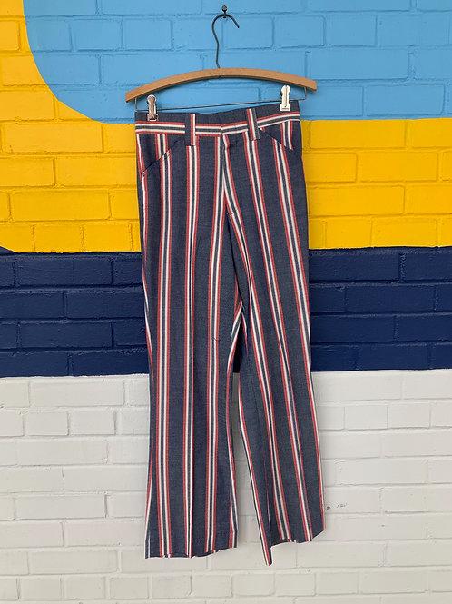 70's Striped Pants