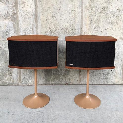 Bose 901 Series V speakers on tulip bases