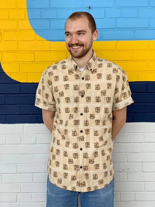 Woolrich Deer Button- up Shirt