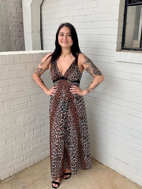 Cheetah Nightgown