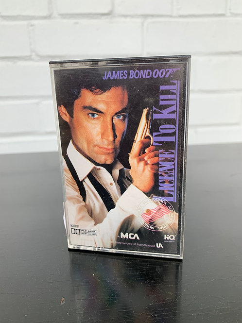 Licence To Kill Cassette