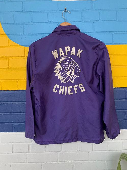 Purple Chiefs Coat