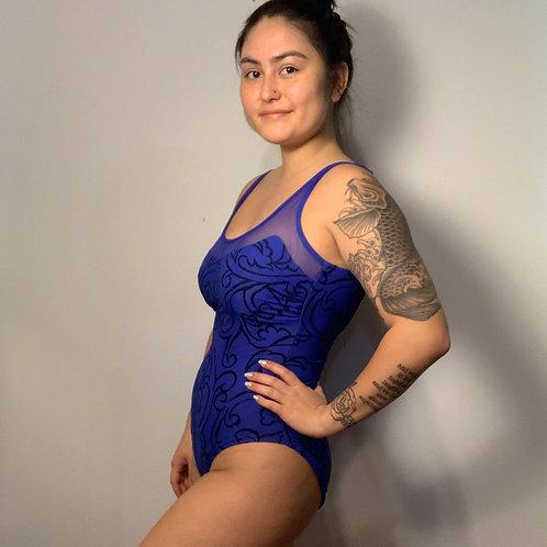 Purple/ Blue Swim