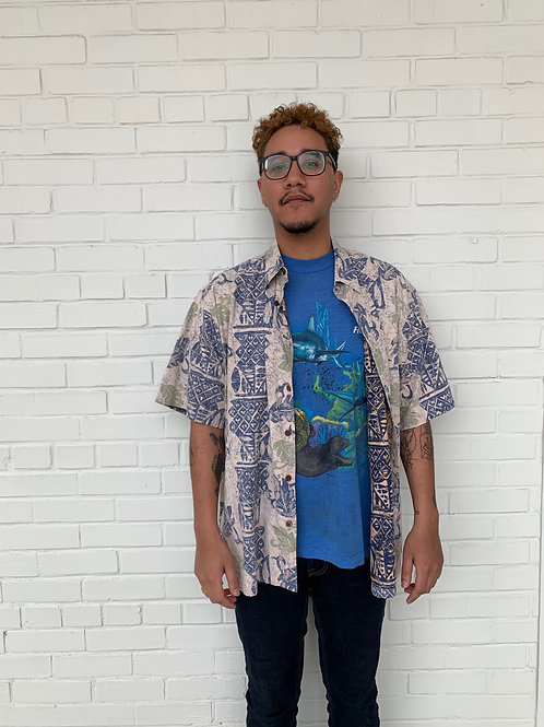 Cool 90's Button Up
