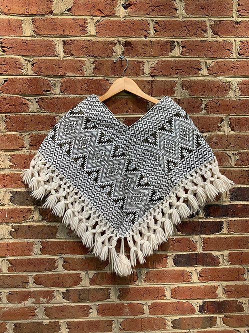 Awesome Woven poncho