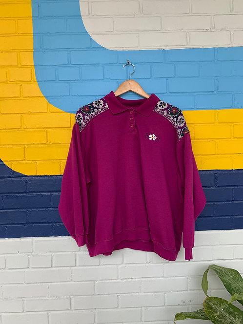 Fuchsia Sweatshirt
