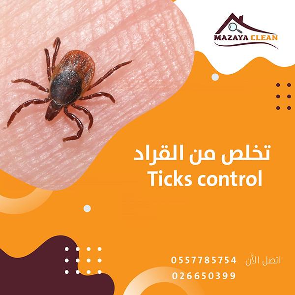 Ticks control in Abu Dhabi | MAZAYA PEST CONTROL