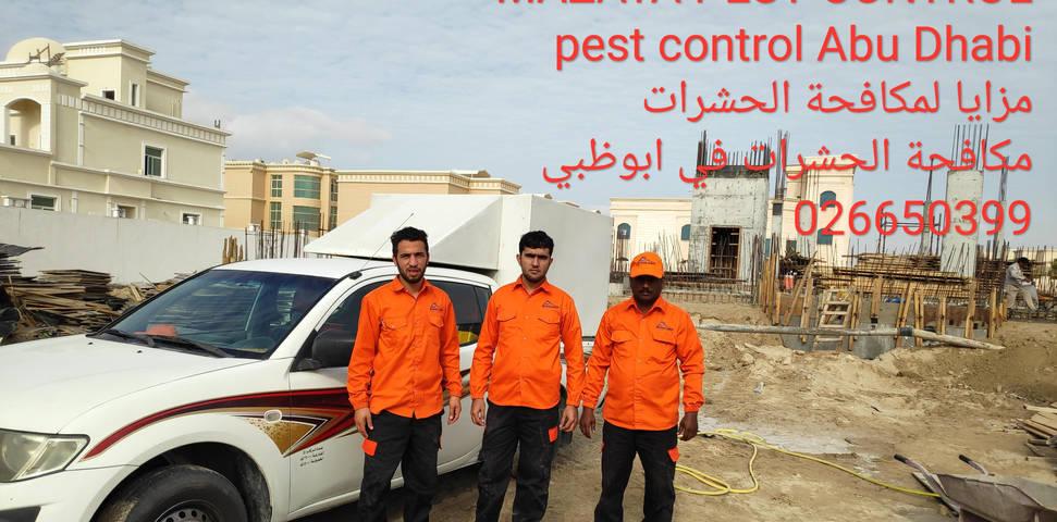 مزايا لمكافحة الحشرات, شركة مكافحة حشرات في ابوظبي, رش النمل الابيض قبل البناء
