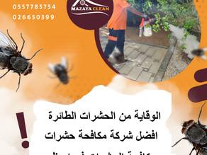 الوقاية من الحشرات الطائرة