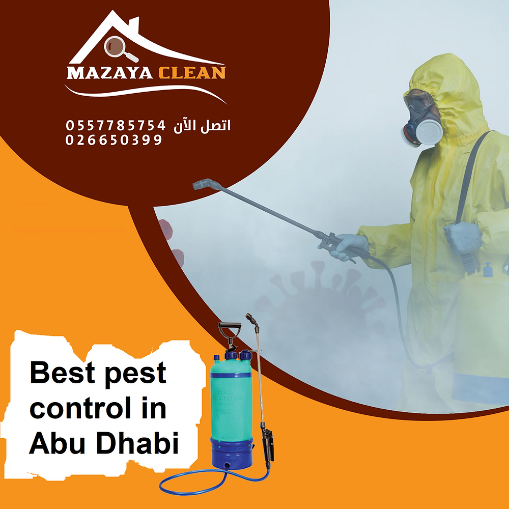 What is the best pest control company in Abu Dhabi ? When residents of Abu Dhabi region face some problems with insects, or when they are disturbed by insects, they search for pest control companies in Abu Dhabi, and the first question that comes to mind is what is the best pest control company? Here, we explain to you some criteria that help you choose a good pest control company. First, you must choose a pest control company certified and licensed by the official authorities concerned in the field of pest control in Abu Dhabi, such as the Environment Authority in Abu Dhabi, Abu Dhabi Municipality and Abu Dhabi TADWEER, secondly, you must make sure that The company has been working in the field of pest control for a long time and has a number of years of sufficient experience, you must read carefully about the pest control company and browse their website and their page on Google, Facebook and communication sites, and you must also read customer reviews on the pest control company before you You choose it, and it is better to choose a pest control company with whom you have a previous experience, or to recommend it to you by another individual who has obtained a pest control service in Abu Dhabi, and finally, carefully investigate the reliability and credibility of the pest control company in Abu Dhabi before you choose it