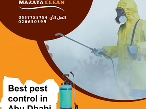What is the best pest control company in Abu Dhabi ?