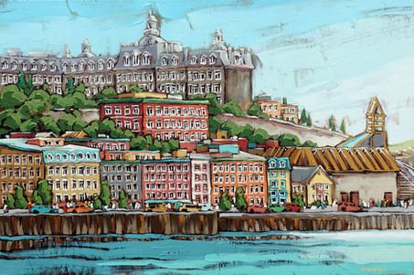 Québec sur la rive