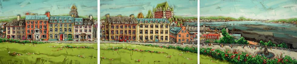 Québec vu de la Citadelle