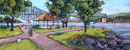 Farine au Parc de la Chaudière