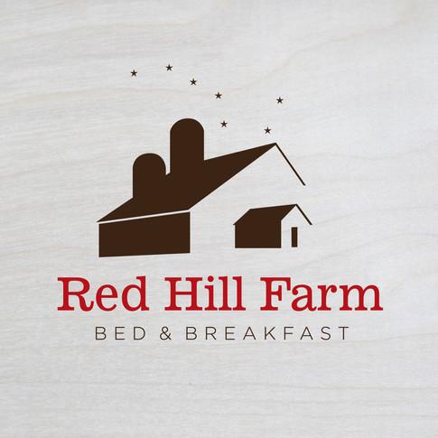Red Hill Farm Bed & Breakfast Logo