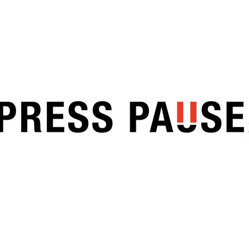 TEDx Utica Press Pause Logo