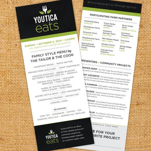 Youtica Eats Menu