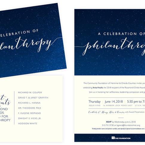 Philanthropy Invitation