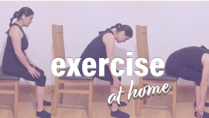 3 easy exercises to do at home any time