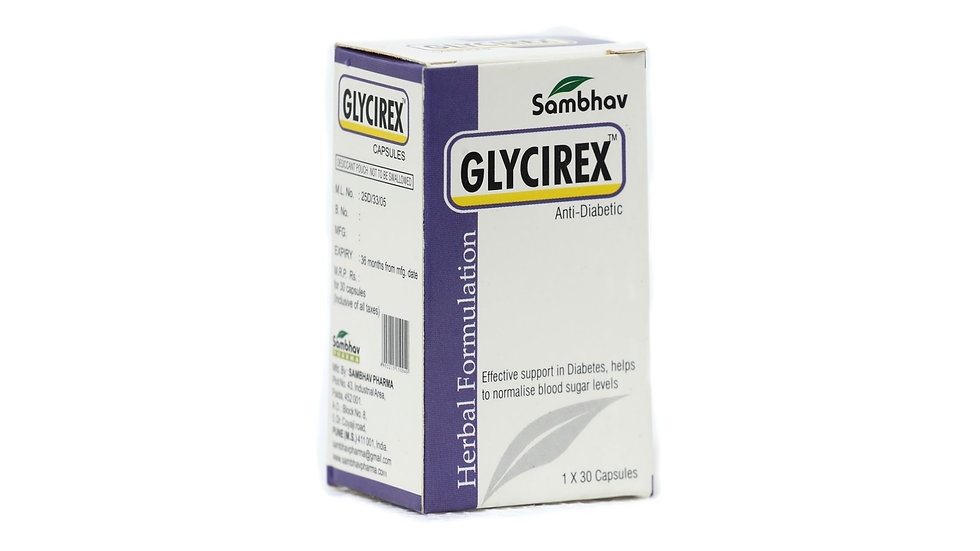 GLYCIREX capsules