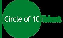 Circle of 10 Green logo.tif