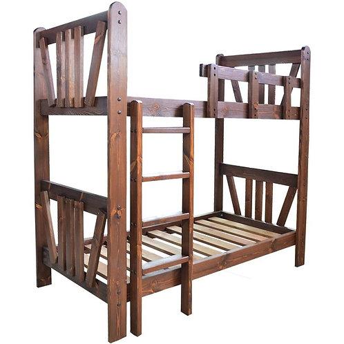Кровать под старину Машенька двухъярусная