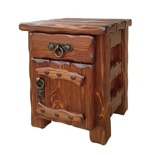 Тумбочка Аленушка 2 (ящик+дверь) с эл.ковки