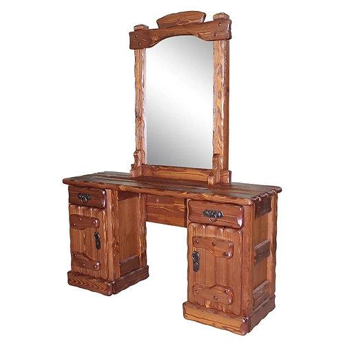 Трюмо Барыня 1 (зеркало, ящик+дверь, ящик+дверь) с эл.ковки