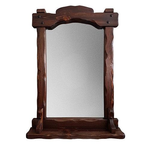 Зеркало Добряк с полкой