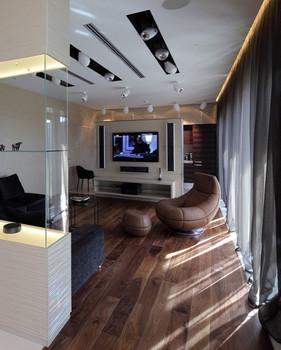 Дизайн и ремонт гостиной в Москве