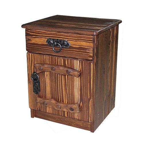 Тумбочка Русич 2 (ящик+дверь) с элементами ковки