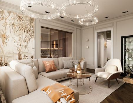 Мебель на заказ для двухкомнатной квартиры в Москве