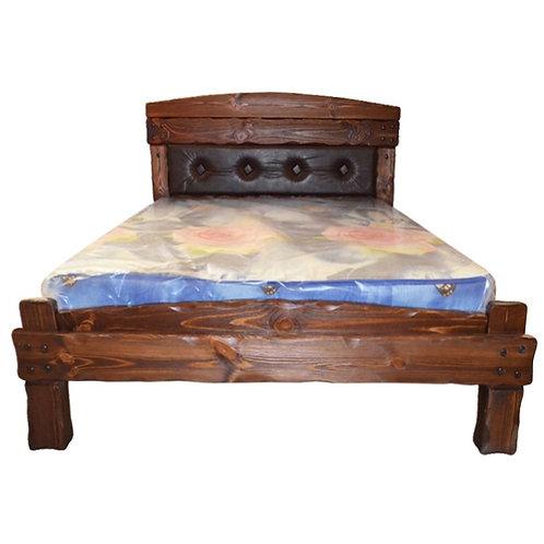 Кровать Барин 3 с мягкой спинкой (каретная стяжка)