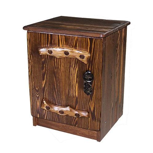 Тумбочка Русич 1 (дверь) с элементами ковки