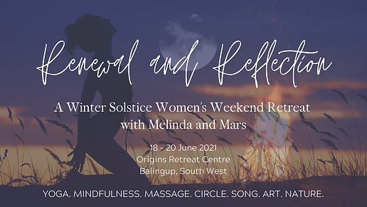 FACEBOOK BANNER - Renewal and Reflection