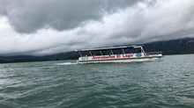 Taxi-Boat-Taxi Shuttle between Arenal and Monteverde.