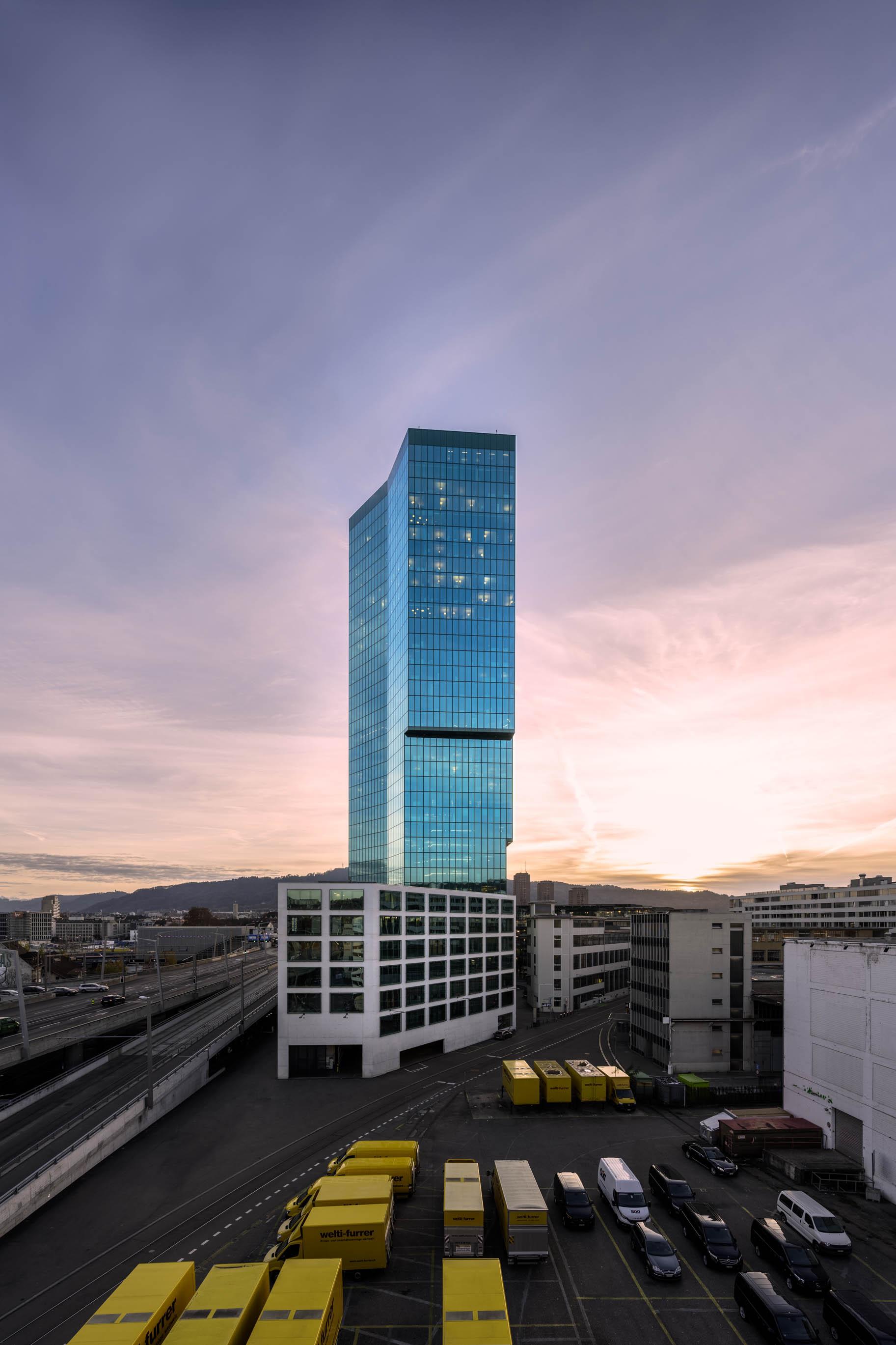 Architekturfotografie, Zürich, Primetower