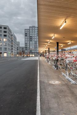 Auftragsarbeit für Scheiwiller Architekten: Bahnhofsdach Kriens Mattenhof
