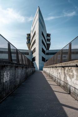 Architekturfotografie, Aarau, Bahnhof