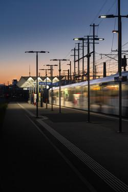 Auftragsarbeit für Scheiwiller Architekten: Bahnhofsdach Aarau Torfeld