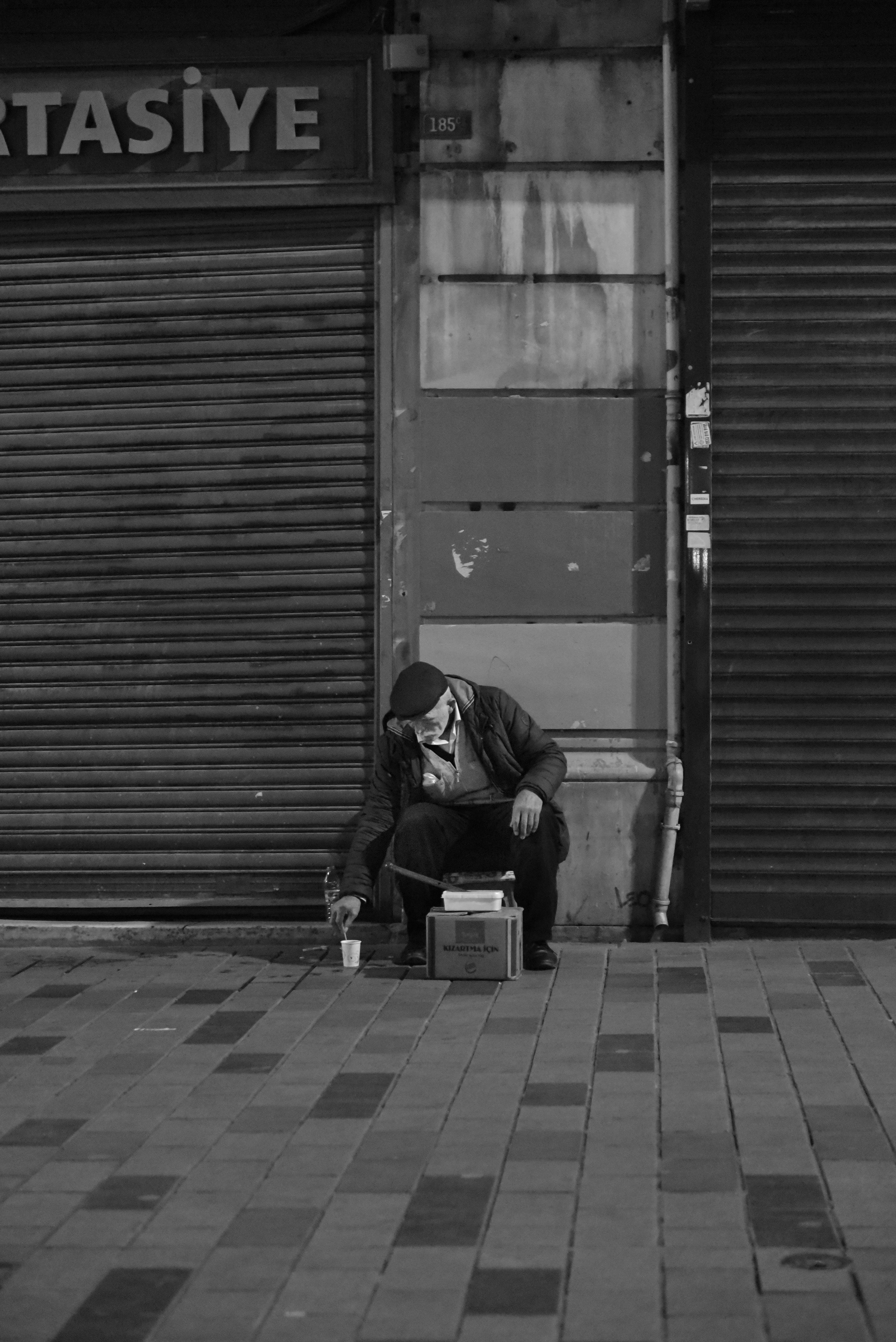 Mann in Istanbul