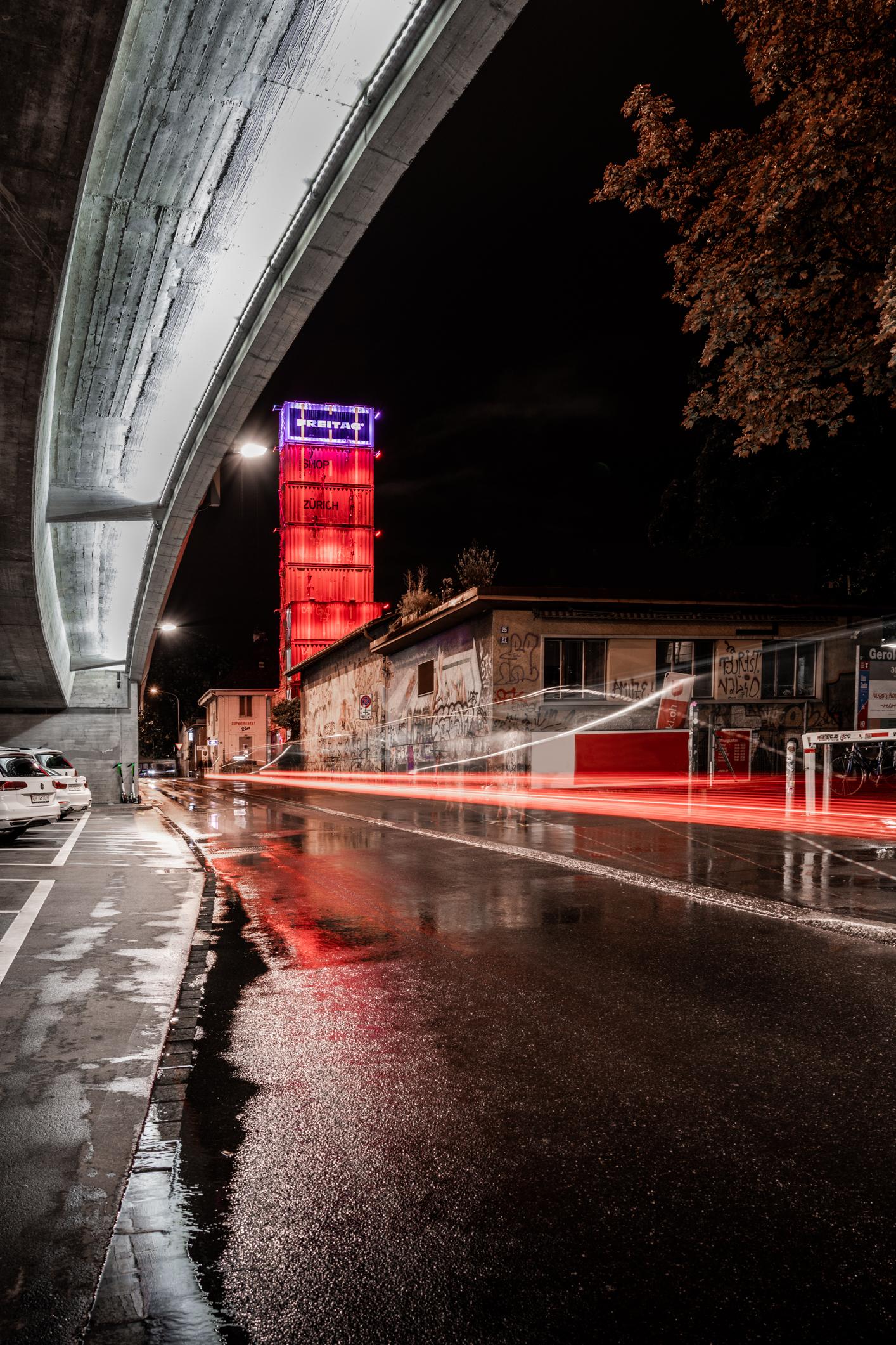 Architekturfotografie, Zürich, Freitag Tower